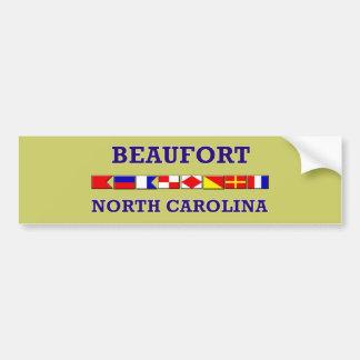 Beaufort Bumpersticker Etiqueta De Parachoque