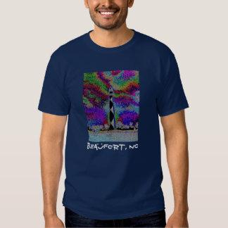 Beaufort, NC - Cape Lookout (back) T Shirt