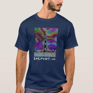 Beaufort, NC - Cape Lookout (back) T-Shirt