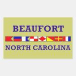 Beaufort Rectangle Sticker