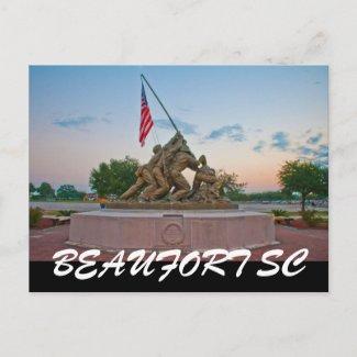 BEAUFORT SC postcard
