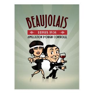 Beaujolais Wine Postcards