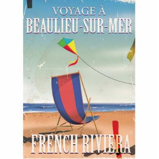 Beaulieu-sur-Mer French Vintage Travel poster Cutout
