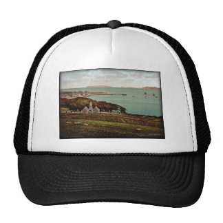 Beaumaris Bay Wales Vintage Photo Trucker Hat
