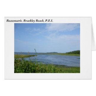 Beaumaris. Brackley Beach, P.E.I. Card