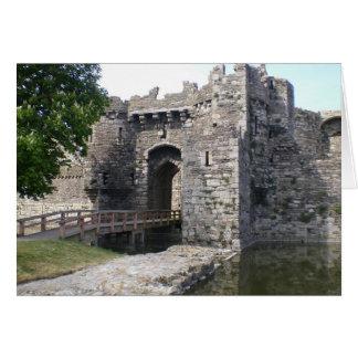 Beaumaris Castle Card