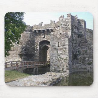 Beaumaris Castle Mouse Pad