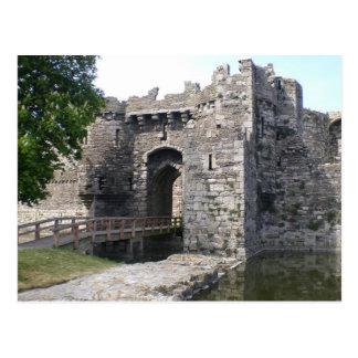 Beaumaris Castle Postcard