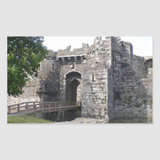 Beaumaris Castle Rectangle Sticker
