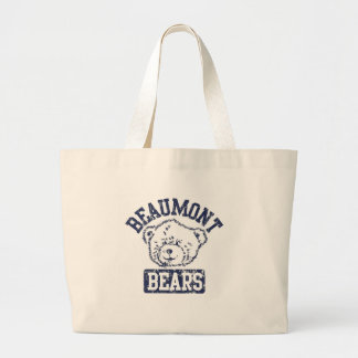 Beaumont Bears Tote Bags