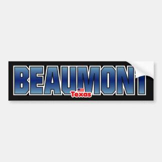 Beaumont Bumper Bumper Stickers
