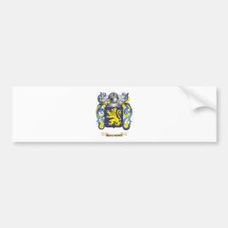 Beaumont Coat of Arms (Family Crest) Bumper Stickers