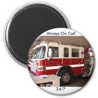 Beaumont Fire Dept. Fridge Magnets