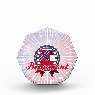 Beaumont, MS Acrylic Award
