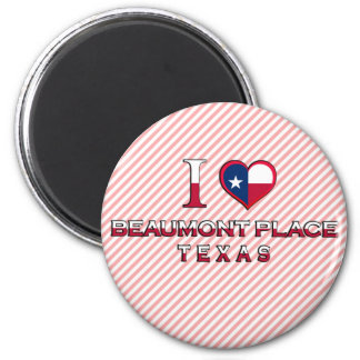 Beaumont Place, Texas Magnets