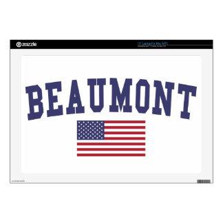 "Beaumont US Flag 17"" Laptop Decals"