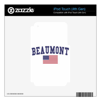 Beaumont US Flag iPod Touch 4G Skins