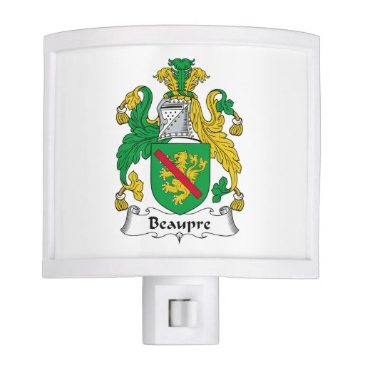 Beaupre Family Crest Night Lights