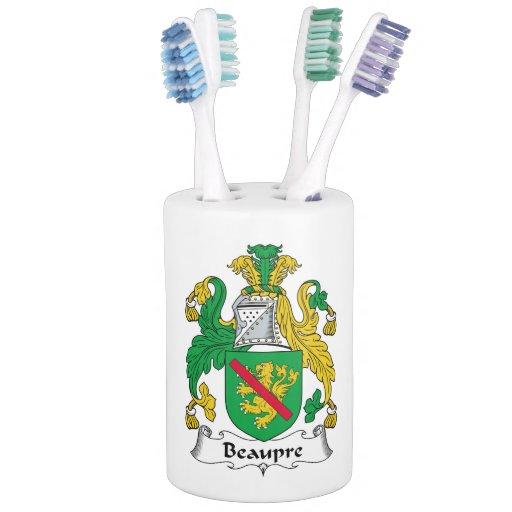 Beaupre Family Crest Bathroom Sets