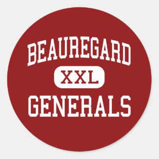 Beauregard - generales - centro - St Bernard Etiqueta Redonda
