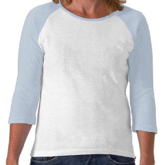 Beautful Nigella flower on a long sleeve shirt