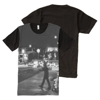 Beauti on Pico Blvd Photograohy All-Over-Print Shirt
