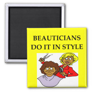 BEAUTICIAN 2 INCH SQUARE MAGNET