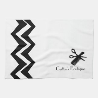 Beautician / Barber Custom Name Towels