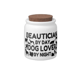 Beautician by Day Dog Lover by Night Candy Dish