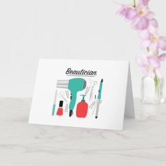 Beautician Card