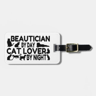 Beautician Cat Lover Tags For Luggage