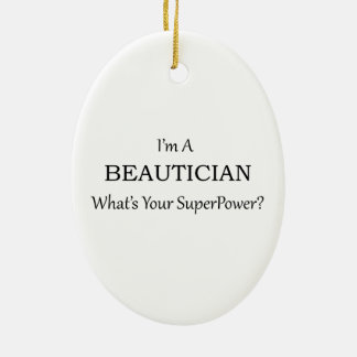 BEAUTICIAN CERAMIC ORNAMENT