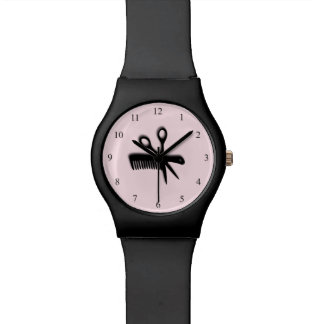 Beautician Design Pink Watches
