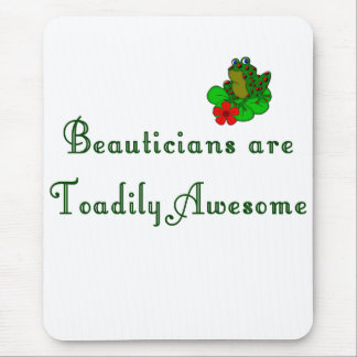 Beautician Mouse Pad