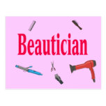 Beautician Postcard