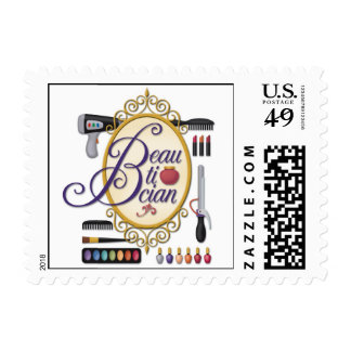 """""""Beautician"""" Stamp"""