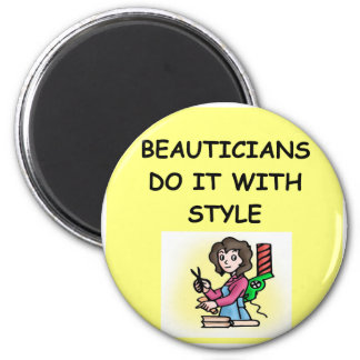 BEAUTICIANS 2 INCH ROUND MAGNET
