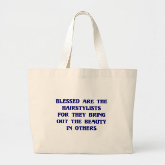 Beauticians Bring Out the Beauty in Others Tote Ba Jumbo Tote Bag