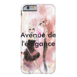 Beauties getting ready barely there iPhone 6 case