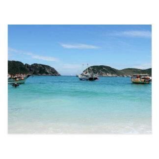 Beauties of Rio De Janeiro Postcard