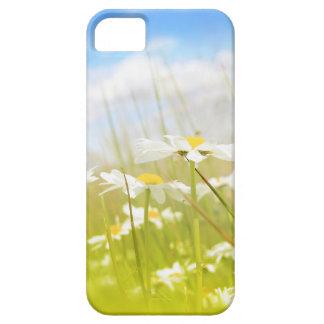 Beautifufl spring meadow background iPhone SE/5/5s case