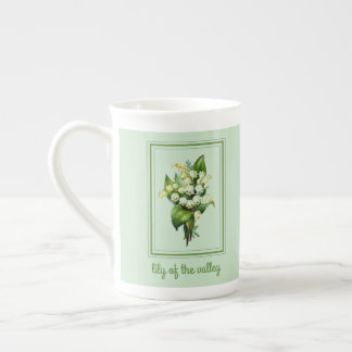 Beautiful 10oz Lily of the Valley Tea Cup