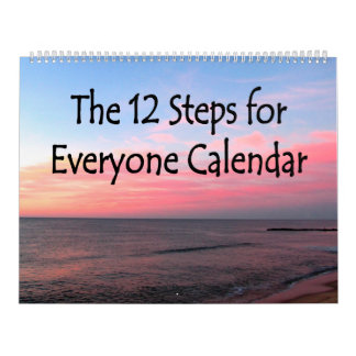 BEAUTIFUL 12 STEP RECOVERY CALENDAR