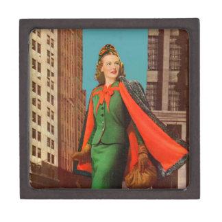 beautiful 1940s uptown girl gift box