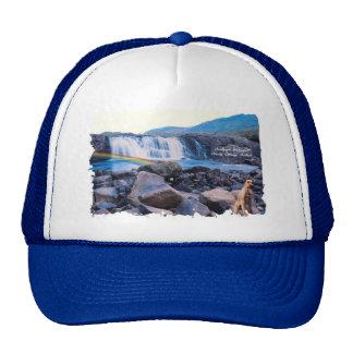 Beautiful Aasleagh Waterfall Galway Ireland Hat