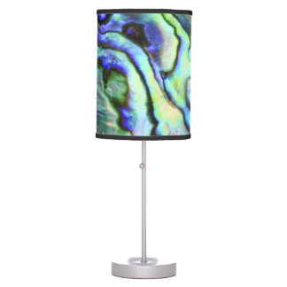 Beautiful abalone paua shell table lamp