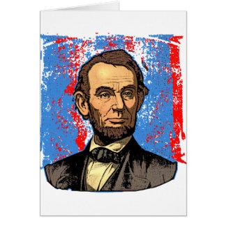 Beautiful Abraham Lincoln Portrait Card