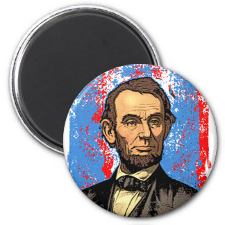 Beautiful Abraham Lincoln Portrait Magnet
