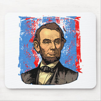 Beautiful Abraham Lincoln Portrait Mouse Pad