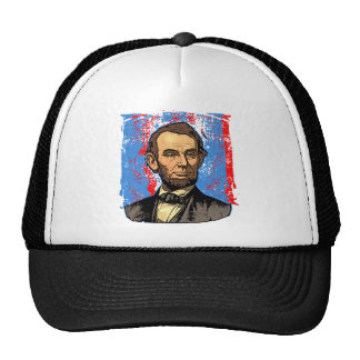 Beautiful Abraham Lincoln Portrait Trucker Hat
